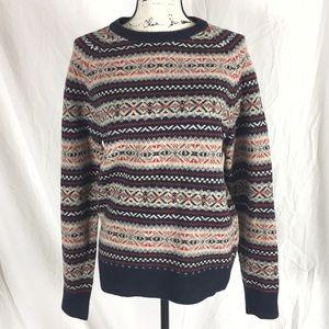 J. Crew 100% Lambs wool Sweater